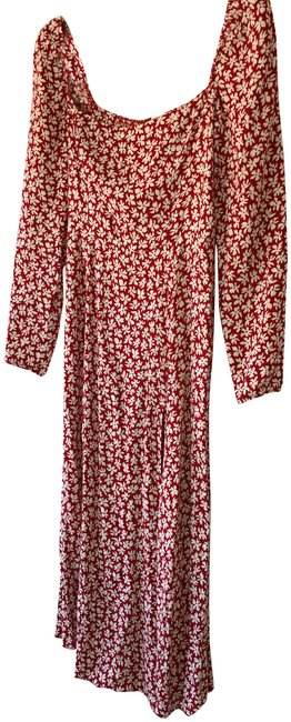 Item - Red Grenadine Sigmund Mid-length Night Out Dress Size 6 (S)