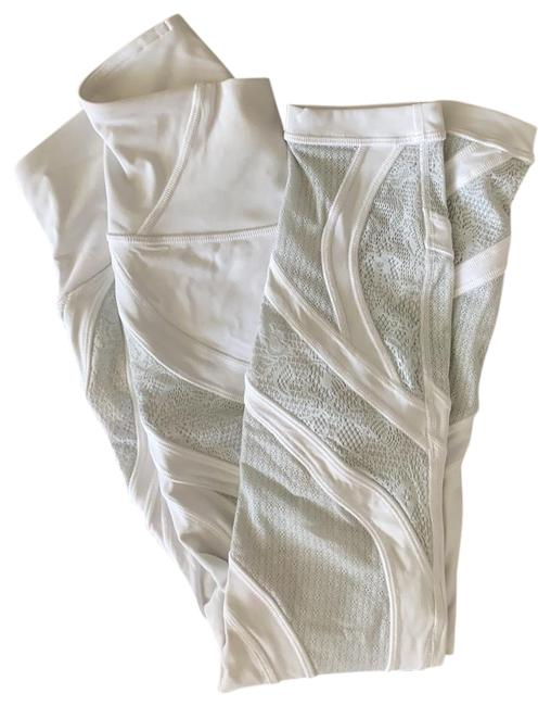 Item - White Lacey Activewear Bottoms Size 4 (S)
