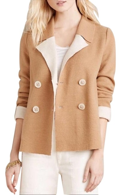 Item - Cream Tan Coat Size 8 (M)