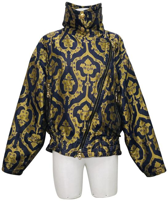 Item - Purple and Gold Purple/Gold Rider's Jacket Coat Size 10 (M)