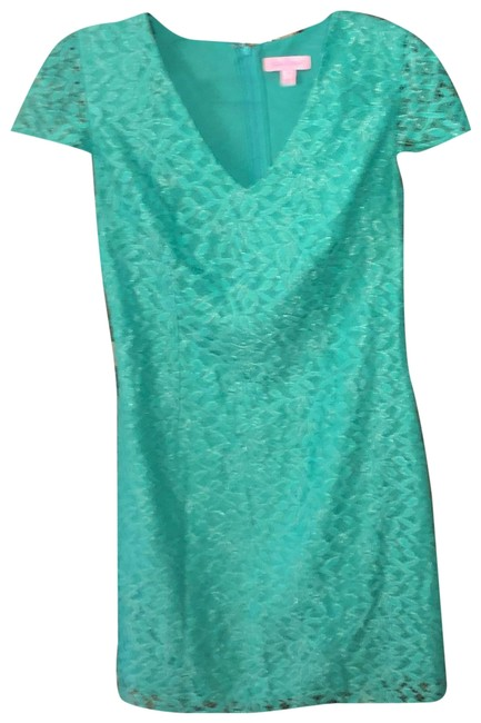 Item - Green XS Erica Lace Short Casual Dress Size 2 (XS)