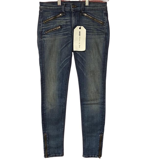 Item - Oil Stain Medium Wash W1520k520 Skinny Jeans Size 2 (XS, 26)