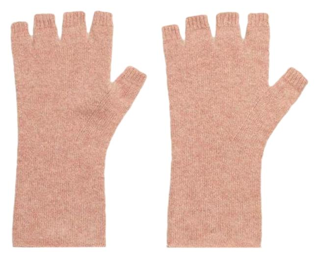 Item - Dusty Rose (Nwt) Cashmere Marled Fingerless Gloves