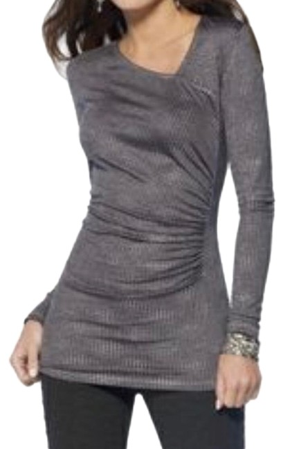 Item - Gray and Silver Mix Top
