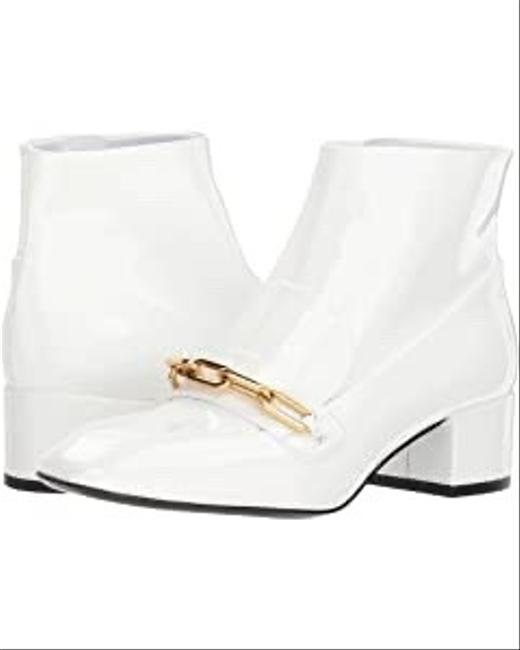 Burberry White Chettle 45 Optic Chain Boots/Booties Size US 5 Regular (M, B) Burberry White Chettle 45 Optic Chain Boots/Booties Size US 5 Regular (M, B) Image 1