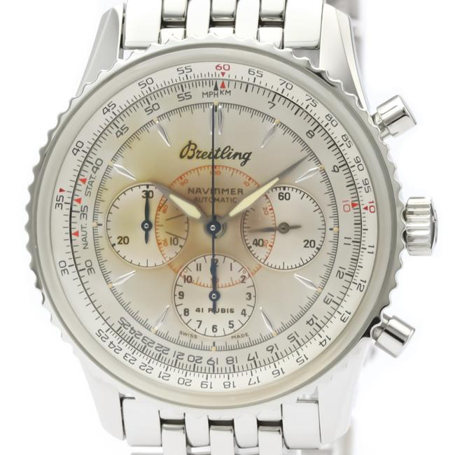 Breitling Navitimer Stainless Steel Men's Sports A30030.2 Watch Breitling Navitimer Stainless Steel Men's Sports A30030.2 Watch Image 1