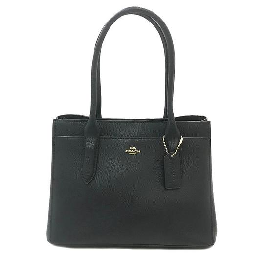 Preload https://img-static.tradesy.com/item/27896627/coach-tote-bag-carryall-handbag-illy-29457-navy-leather-satchel-0-0-540-540.jpg