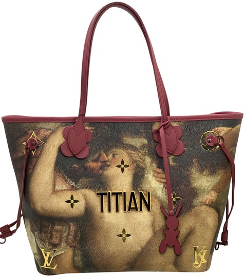 Preload https://img-static.tradesy.com/item/27896640/louis-vuitton-neverfull-masters-collection-titian-mm-pink-coated-canvas-shoulder-bag-0-1-540-540.jpg