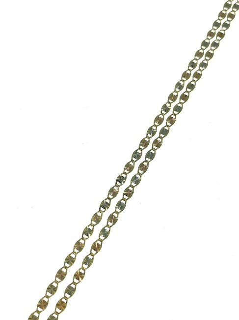 "14k Gold Valentino 2.5mm 18"" Chain Necklace 14k Gold Valentino 2.5mm 18"" Chain Necklace Image 1"