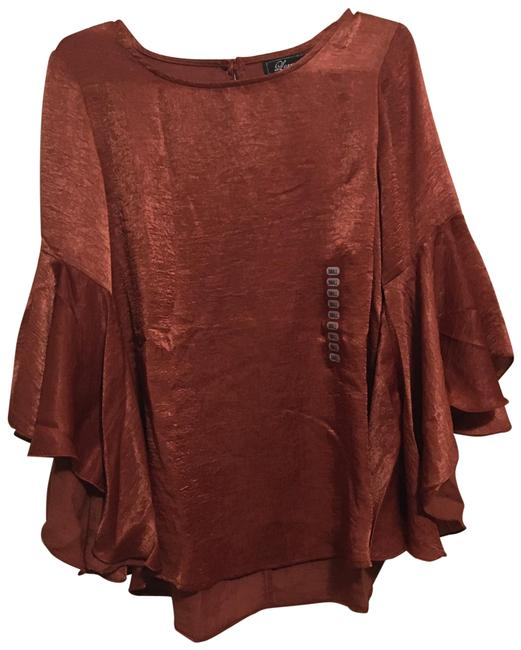 Preload https://img-static.tradesy.com/item/27896717/rusted-red-bell-sleeves-blouse-size-6-s-0-1-650-650.jpg