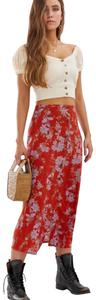 Free People Skirt Rust