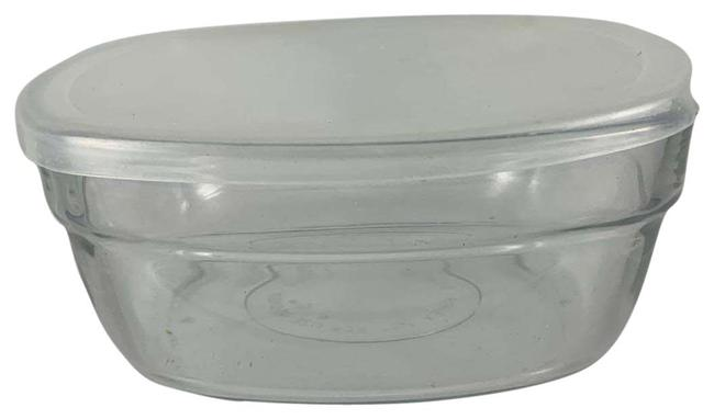 Unbranded Clear 6x6 Glass Microwaveable Snap Tuba Wear Unbranded Clear 6x6 Glass Microwaveable Snap Tuba Wear Image 1
