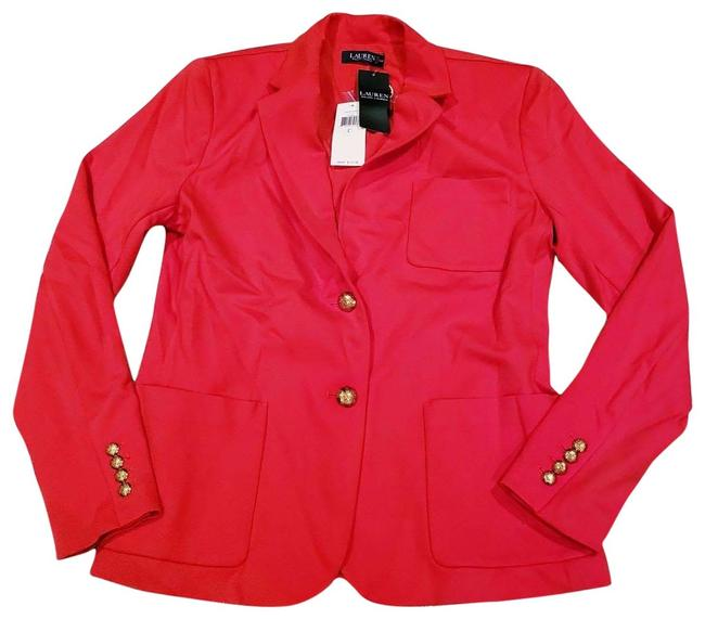 Preload https://img-static.tradesy.com/item/27896969/lauren-ralph-lauren-red-l-lrl-bright-wear-to-work-suit-jacket-blazer-size-12-l-0-1-650-650.jpg