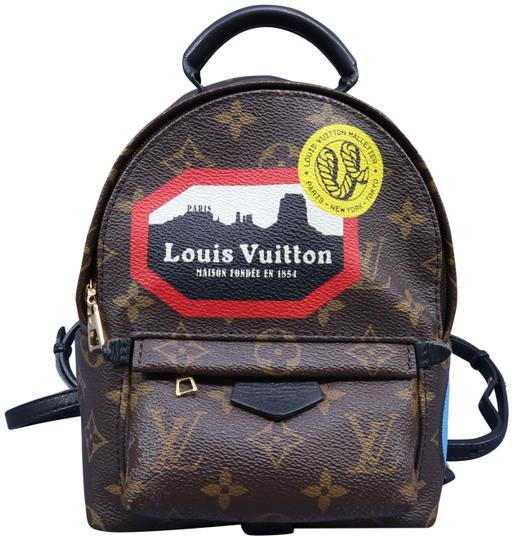 Preload https://img-static.tradesy.com/item/27897136/louis-vuitton-palm-springs-world-tour-mini-brown-monogram-canvas-backpack-0-1-540-540.jpg