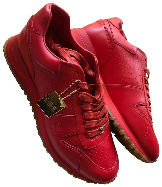 Louis Vuitton Red Supreme Runaway Sneakers Size US 9 Regular (M, B) Louis Vuitton Red Supreme Runaway Sneakers Size US 9 Regular (M, B) Image 1
