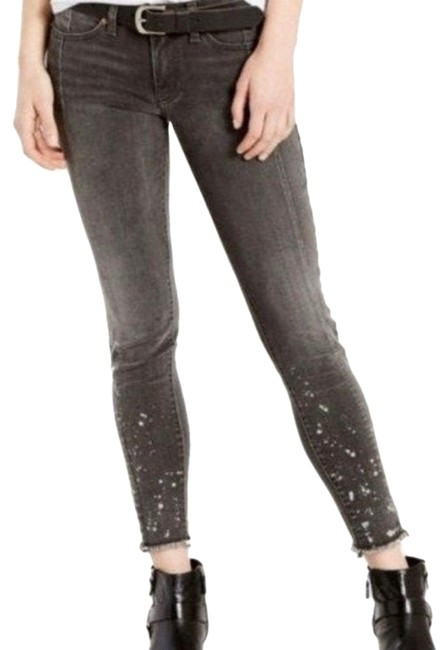 Item - Brown Distressed Women's 711 Mended Skinny Jeans Size 6 (S, 28)