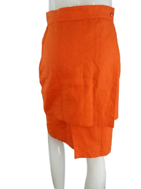 Item - Bright Orange Nwot (Sku 000271-11) Skirt Size 2 (XS, 26)