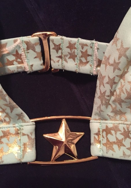Victoria's Secret VS Gold Star Halter
