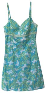 Lilly Pulitzer short dress blue and green on Tradesy