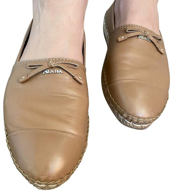 Item - Tan/Nude Espadrille Flats Size EU 40 (Approx. US 10) Regular (M, B)