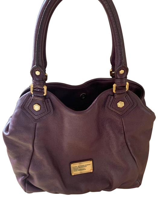 Item - By Purple Leather Tote