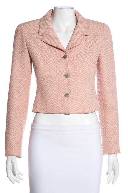 Item - Pink Vintage Wool Blend Jacket Size 2 (XS)