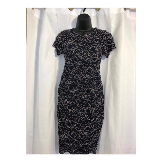 Item - Blue Maternity Mid-length Short Casual Dress Size 2 (XS)