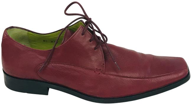 Item - Burgundy Red Lace Up Oxford Formal Shoes Size US 9 Regular (M, B)