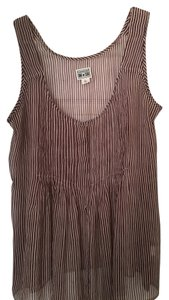 Converse Sheer Top Tan and Burgendy