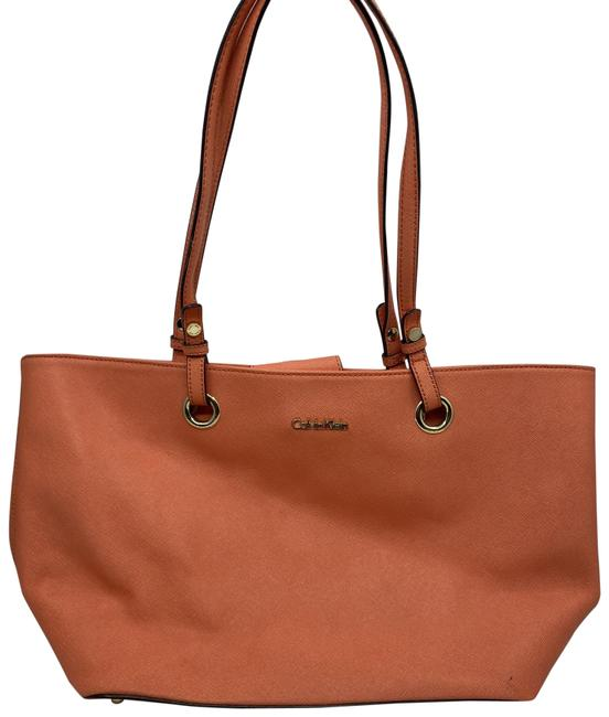 Item - Large Red Coated Canvas Tote