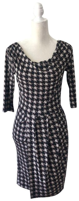 Item - Black Cowl Small Work/Office Dress Size 4 (S)