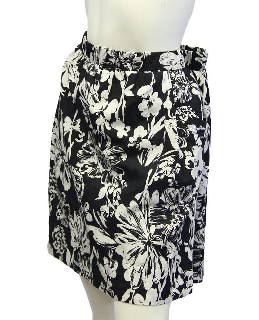 Item - Black White XL Halogen 70's with Dandies Sku 000026 Skirt Size 16 (XL, Plus 0x)