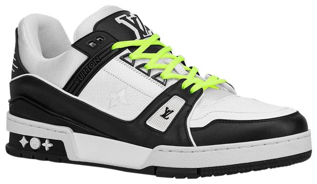 Item - Black X White X Neon Green Rare Limited Virgil Men's Trainer Monogram Lv8.5 1a812o Sneakers Size US 9.5 Narrow (Aa, N)