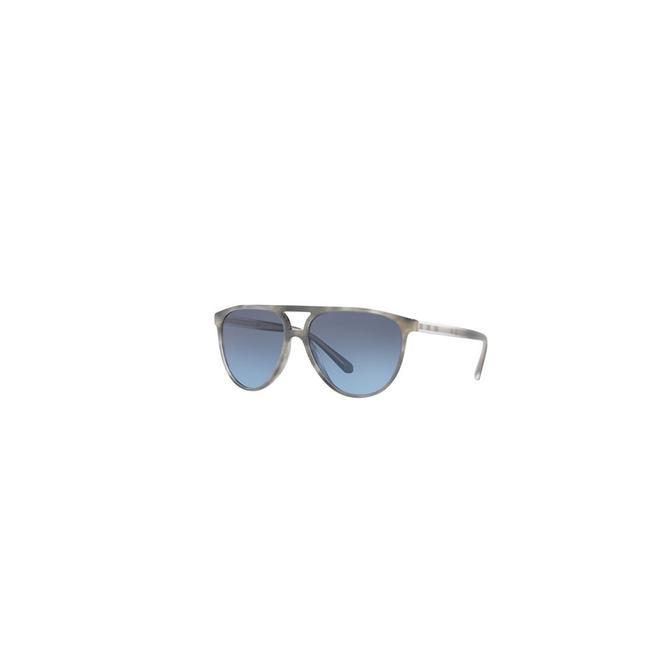 Item - Striped Grey Frame & Blue Gradient Lens Be4254 36588f 58 Aviator Unisex