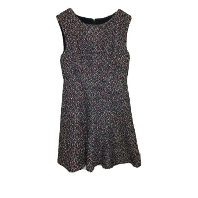Item - Navy Pink Mid-length Short Casual Dress Size 8 (M)