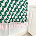 J.Crew Pink and Green Tasseled Tunic Cover-up/Sarong Size 00 (XXS) J.Crew Pink and Green Tasseled Tunic Cover-up/Sarong Size 00 (XXS) Image 5