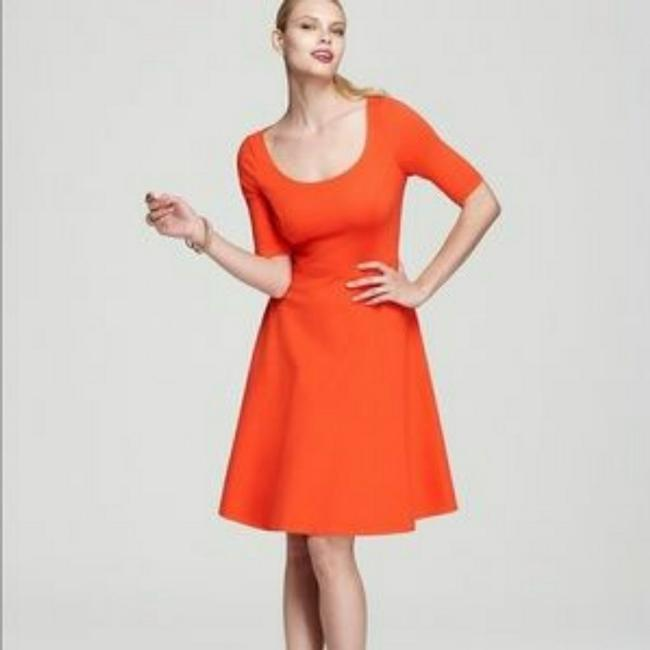Kate Spade Orange Short Cocktail Dress Size 6 (S) Kate Spade Orange Short Cocktail Dress Size 6 (S) Image 1
