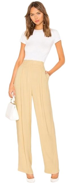 Item - Yellow Pleated Pants Size 6 (S, 28)