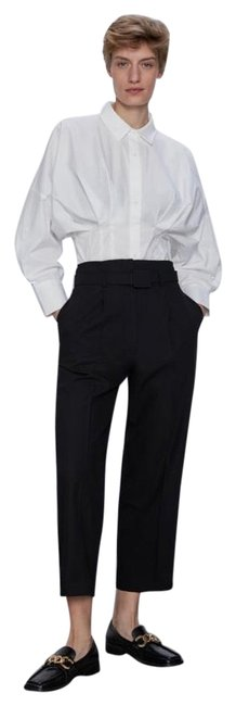 Item - Belted Trousers Pants Size 8 (M, 29, 30)