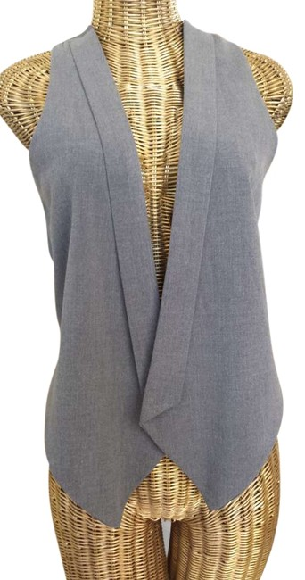 Preload https://item4.tradesy.com/images/wish-grey-vest-blouse-size-8-m-279073-0-0.jpg?width=400&height=650