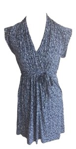 French Connection short dress Gray And Blue on Tradesy