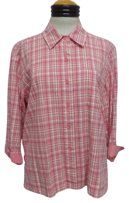 Preload https://item5.tradesy.com/images/christopher-and-banks-plaid-button-down-button-down-shirt-2790859-0-0.jpg?width=400&height=650