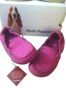Hush Puppies Bright Pink/Fuchia Flats