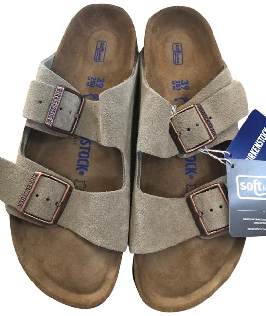 Item - Taupe Arizona Double Strap Sandals Size US 8.5 Narrow (Aa, N)
