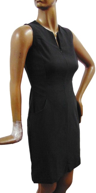 Item - Black J. Stretchy Rayon Short Casual Dress Size 2 (XS)