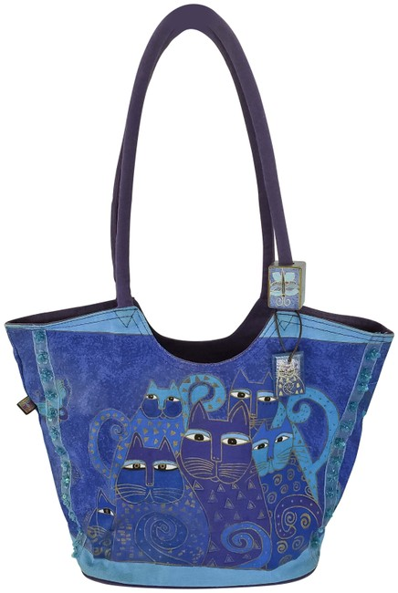 Item - Bag Blue Cotton Tote
