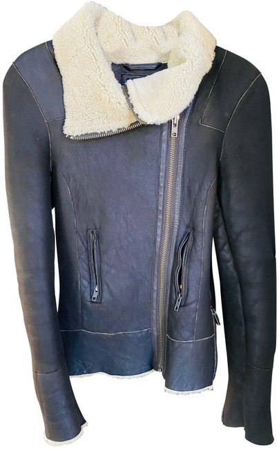 Item - Brown Shearling Jacket Size 4 (S)