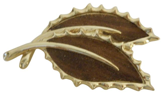 Sarah Coventry Brown Gold Tone Vintage Silver Swirl Pin Brooch Earrings Pearl Sarah Coventry Brown Gold Tone Vintage Silver Swirl Pin Brooch Earrings Pearl Image 1