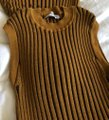 Opening Ceremony Tan and Brown Ribbed Knit Sleeveless Tunic Size 4 (S) Opening Ceremony Tan and Brown Ribbed Knit Sleeveless Tunic Size 4 (S) Image 6