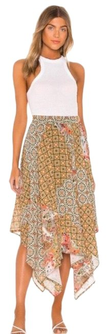 Item - Brown Stay Awhile Skirt Size 4 (S, 27)